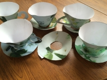 selection of teacups